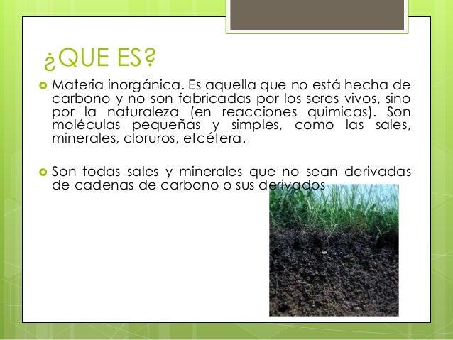 Exposicion e4 componentes inorganicos del suelo for Componentes quimicos del suelo