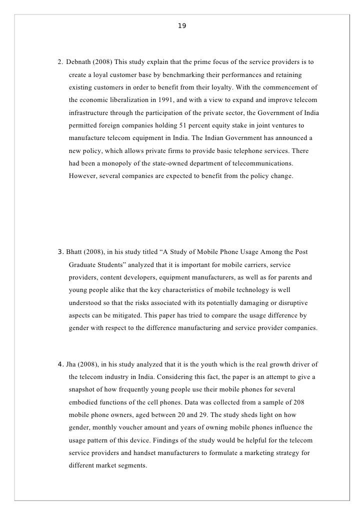 Review of literature on customer satisfaction in mobile phones writing a personal statement for college application uk