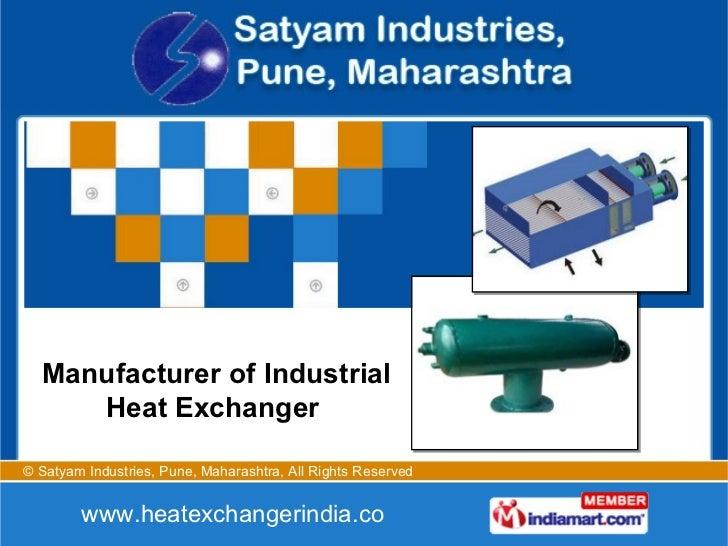 Manufacturer of Industrial Heat Exchanger