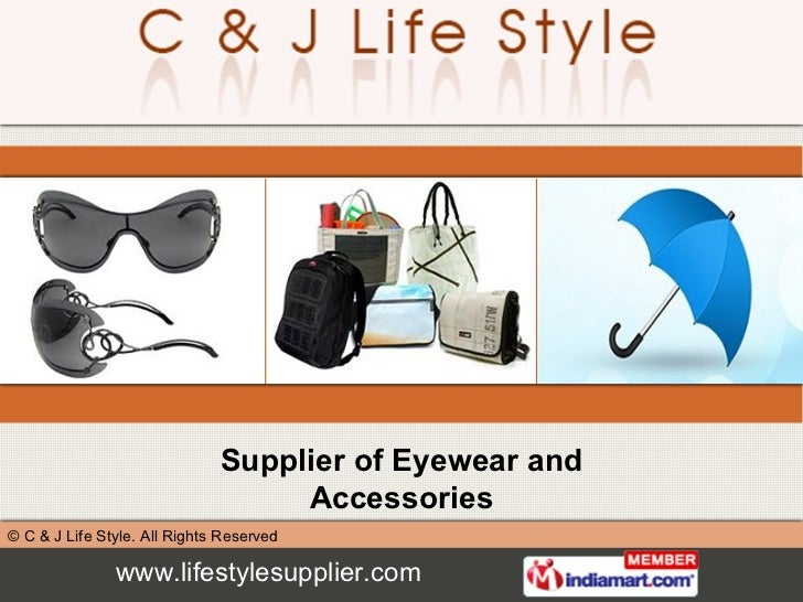 Supplier of Eyewear and Accessories