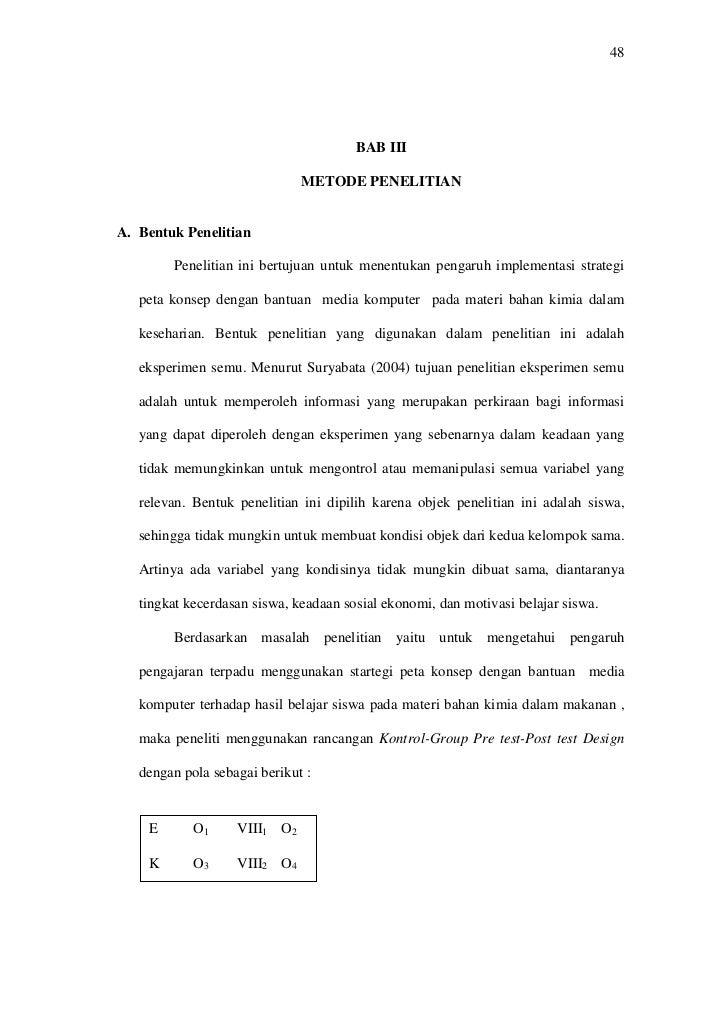 48                                            BAB III                                METODE PENELITIAN   A. Bentuk Penelit...