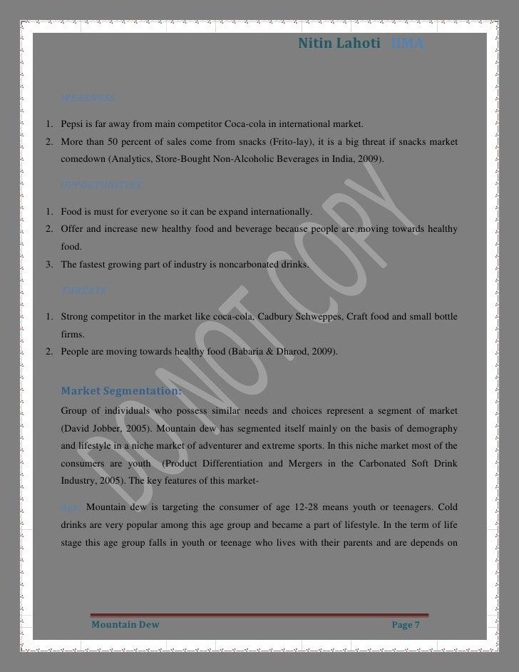 Pestel analysis of frito lay india | Coursework Sample