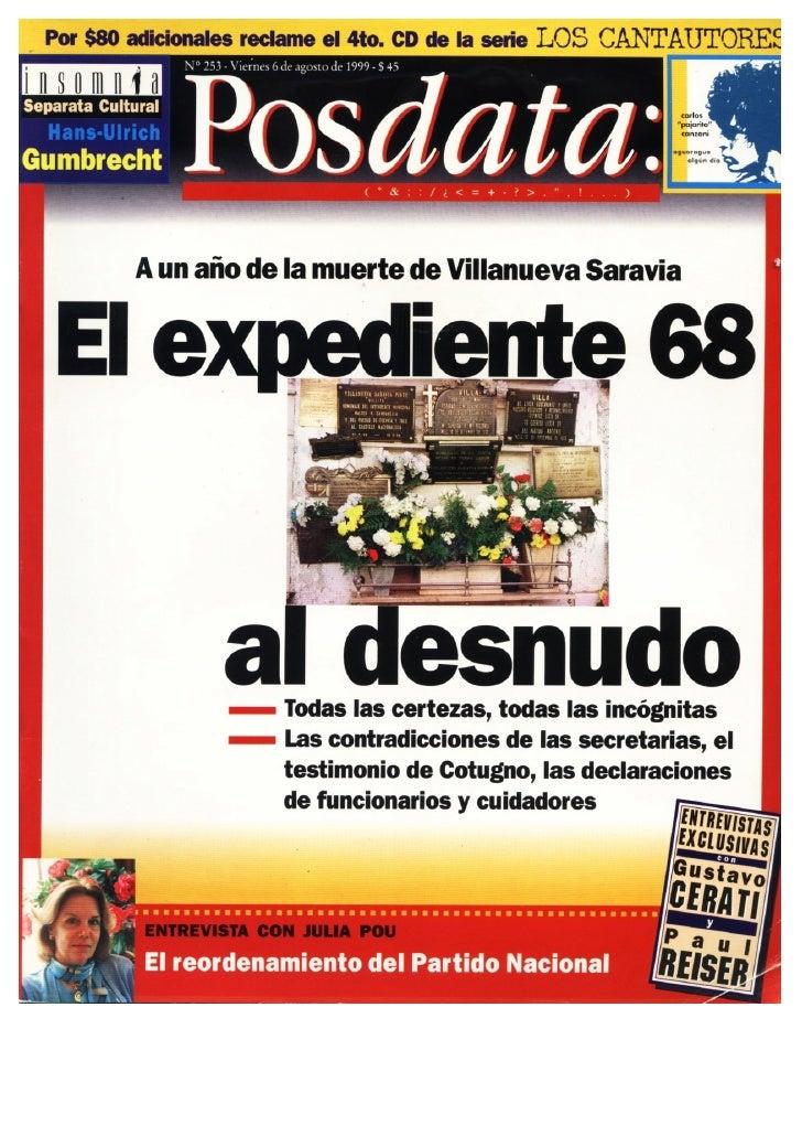 Los técnicos y la política en el Uruguay de los años '90