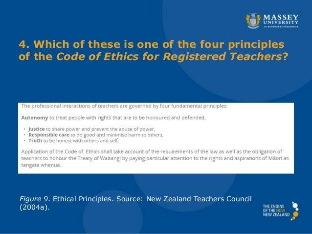 Ethical Principles Source New Zealand Teachers Council 2004a 17