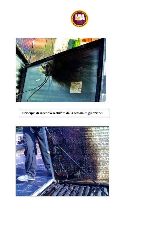 Schema Elettrico Quadro Di Campo Stringhe : 254 2015 relazione fotovoltaico incendi vvf