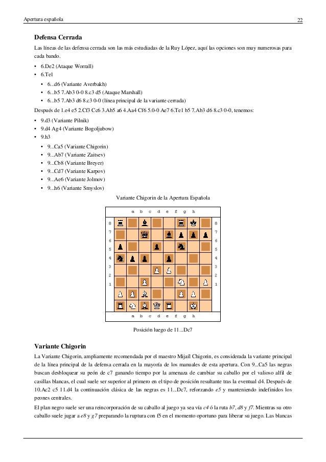 ludek pacman aperturas cerradas pdf