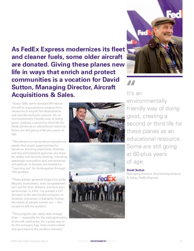 fedex and globalization Without them the global reach of fedex would still be a dream we employ more than 4,500 of the most skilled pilots in the world and provide them with the best technology and equipment.