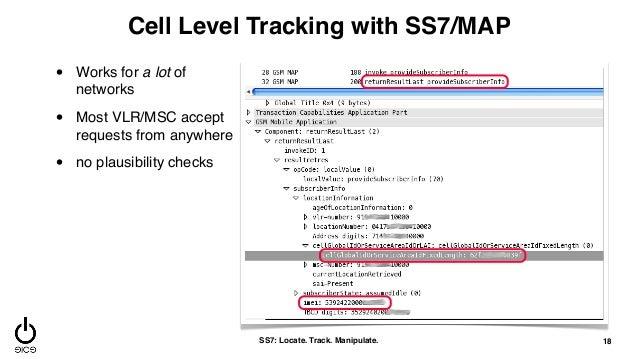 SS7: Locate  Track  Manipulate