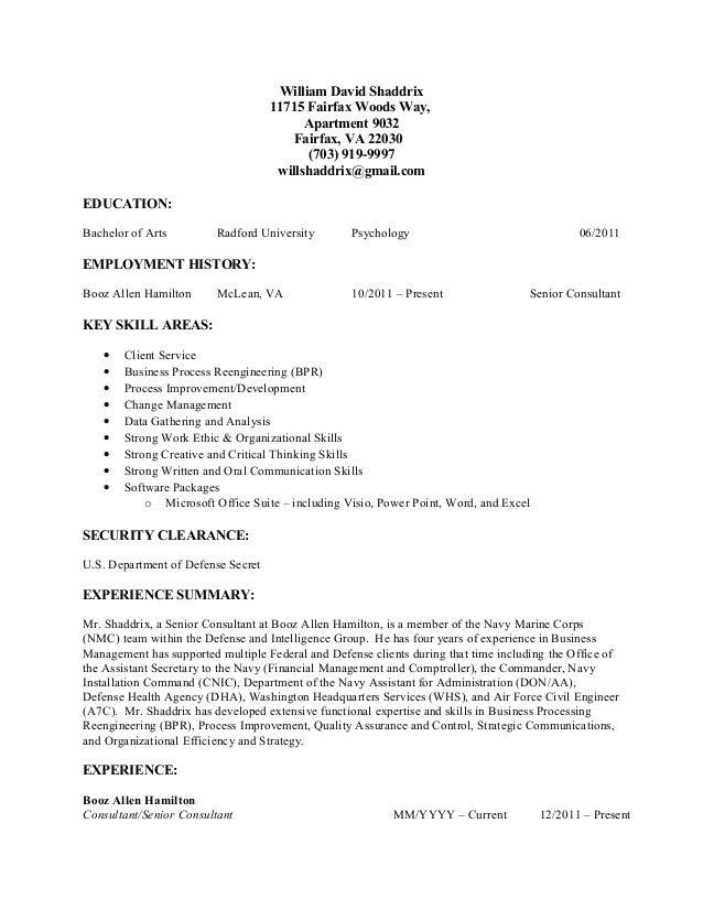 William David Shaddrix 11715 Fairfax Woods Way, Apartment 9032 Fairfax, VA 22030 (703) 919-9997 willshaddrix@gmail.com EDU...