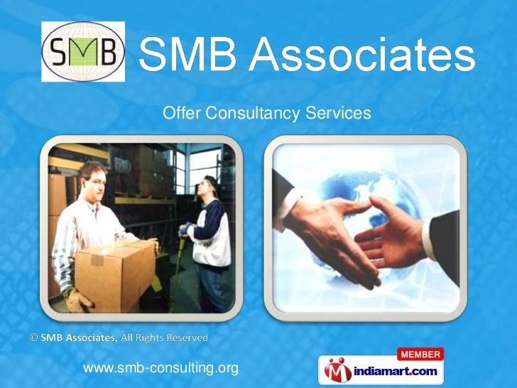 Offer Consultancy Serviceswww.smb-consulting.org