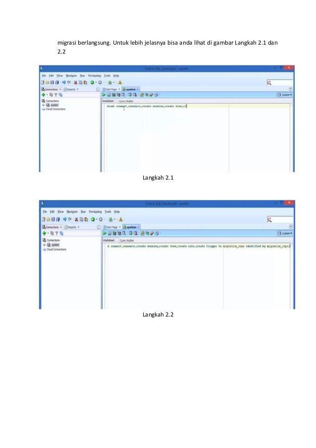 25605 tutorial migrasi database dari my sql ke oracle ( kelompok 9 ) Slide 3