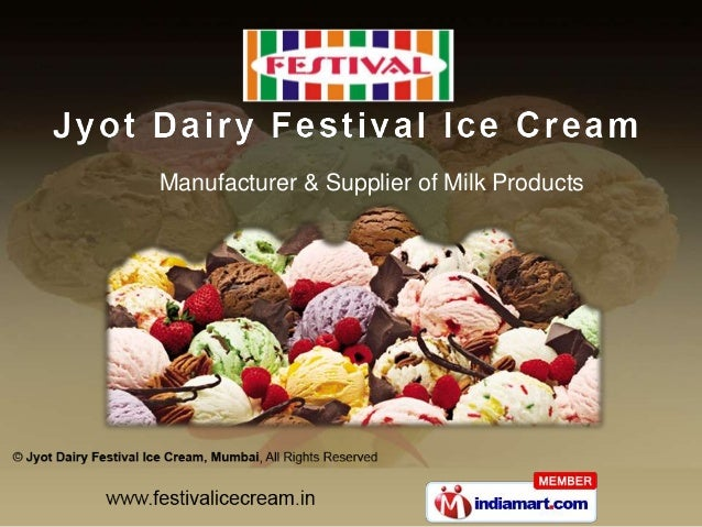 Manufacturer & Supplier of Milk Products