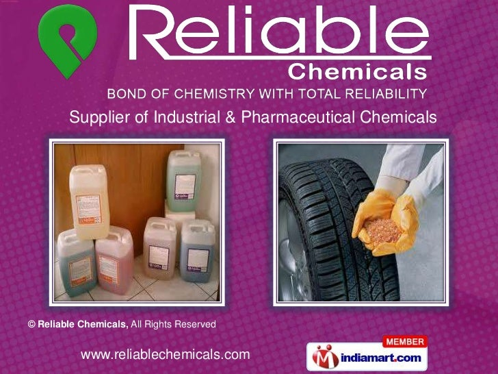 Supplier of Industrial & Pharmaceutical Chemicals<br />