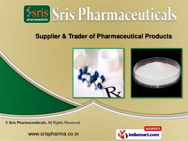 Supplier & Trader of Pharmaceutical Products