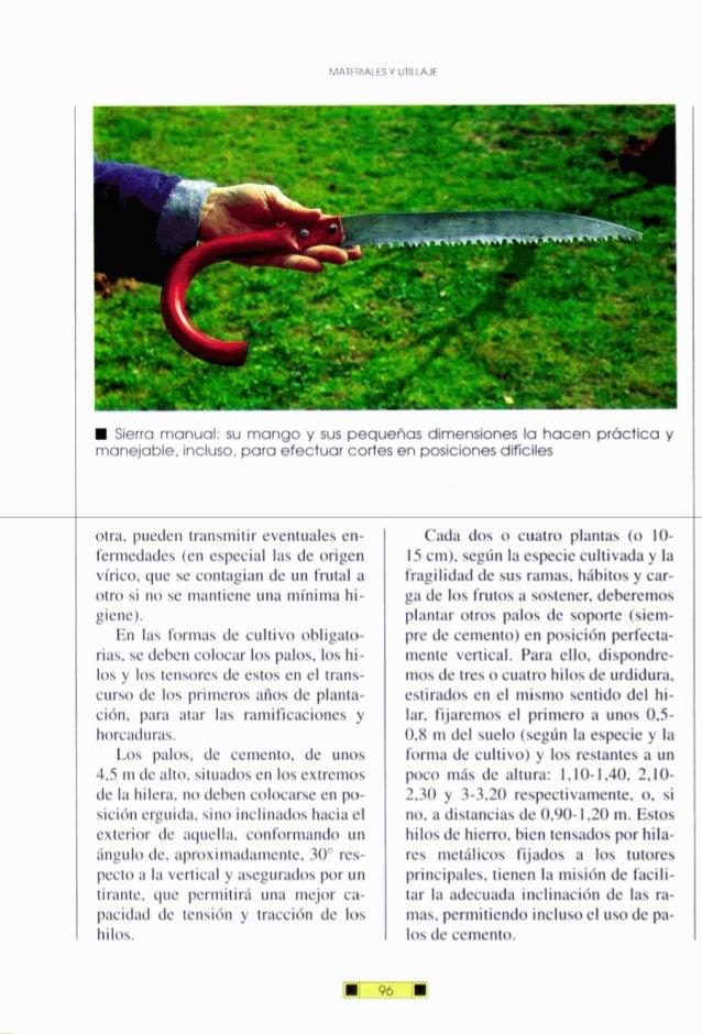 MATERIALESY UTlLVVt Sierra manual: su mango y sus pequeñas dimensiones la hacen práctica y manejable, inciuso,para efectua...