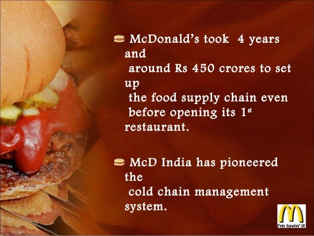 comparing mcdonalds and hft supporting Some media commentators were taken aback by the online launch of a website supporting conspicuous  mcdonald's restaurant,[3  1][2] (hft) and market.