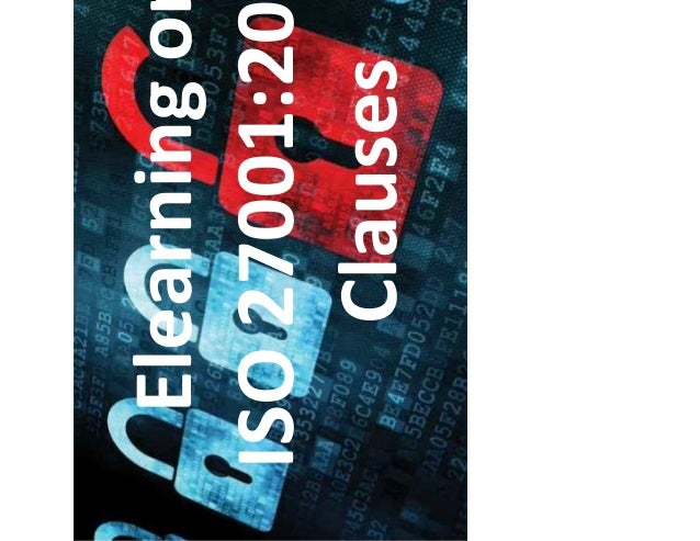 Elearning on ISO 27001:2013 Clauses