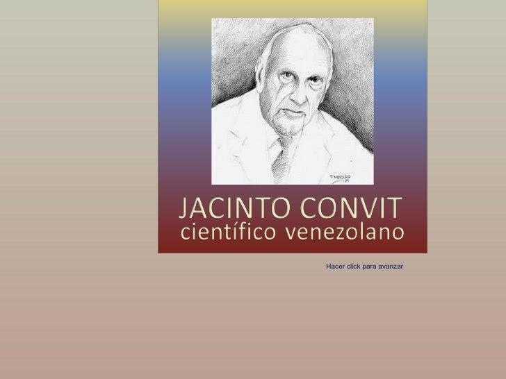 Jacinto Convit, científico venezolano (por: carlitosrangel)