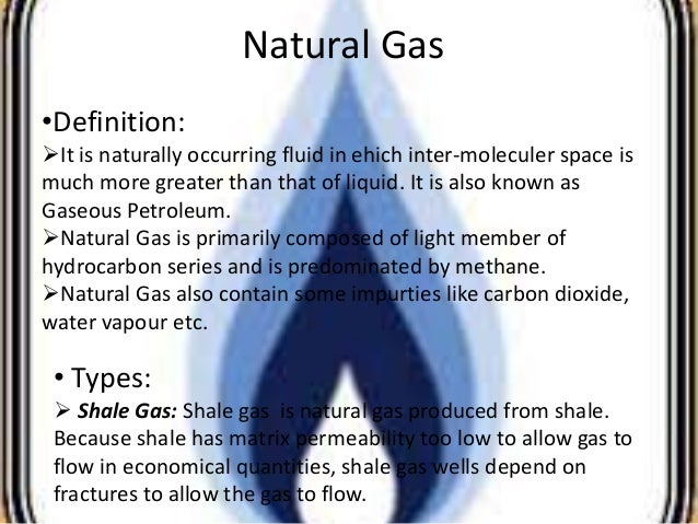 Natural Gas Is Composed Primarily Of