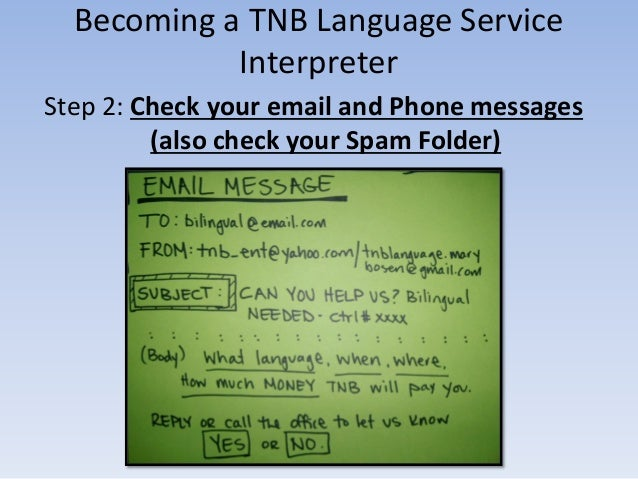 TNB Language Service -  How it all works & How to get PAID Slide 3