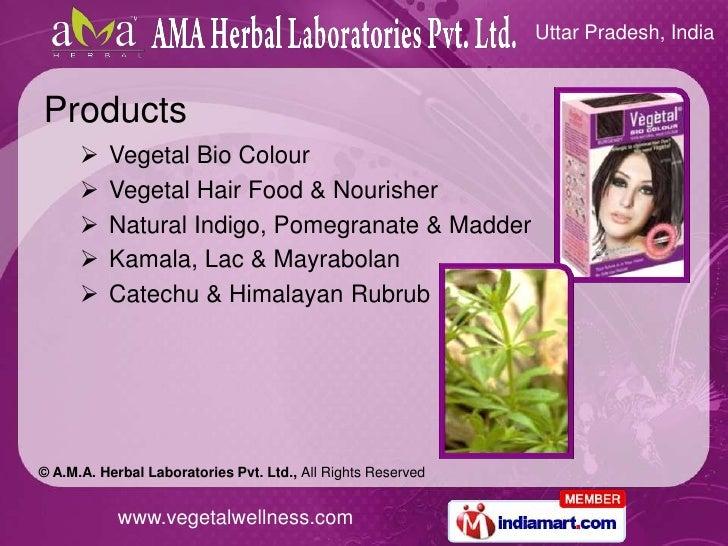 Pomegranate Natural Hair Dye
