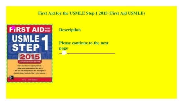 First Aid 2015 Pdf