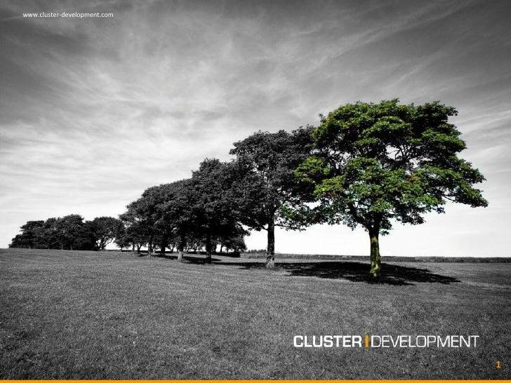 www.cluster-development.com                              1