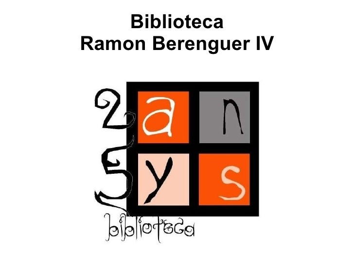 Biblioteca Ramon Berenguer IV