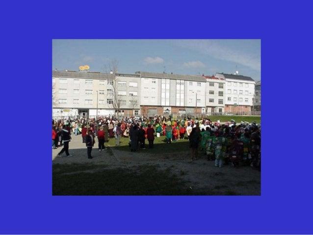 Actuación dos nenos en centros da 3ª idade