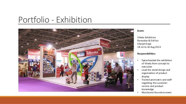 Exhibition Stand Designer Job Description : Marjorie medina portfolio