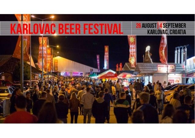 Beer festivals in europe august november 2016 for Europe in november