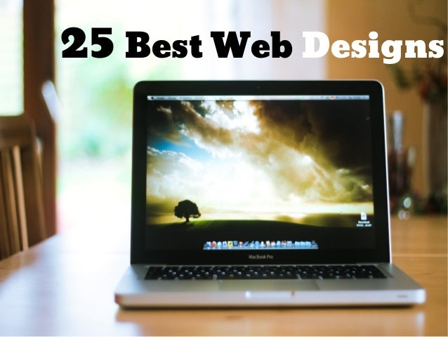 25 Best Web Designs