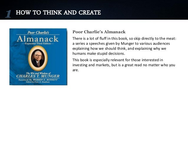 How To Make A Book Yourself : Books on how to think create be yourself