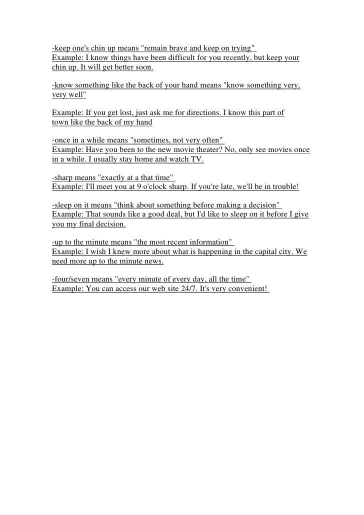 25 Common English Idioms