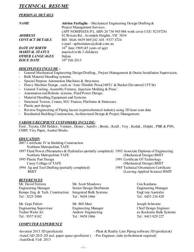 AF Resume Feb 2015