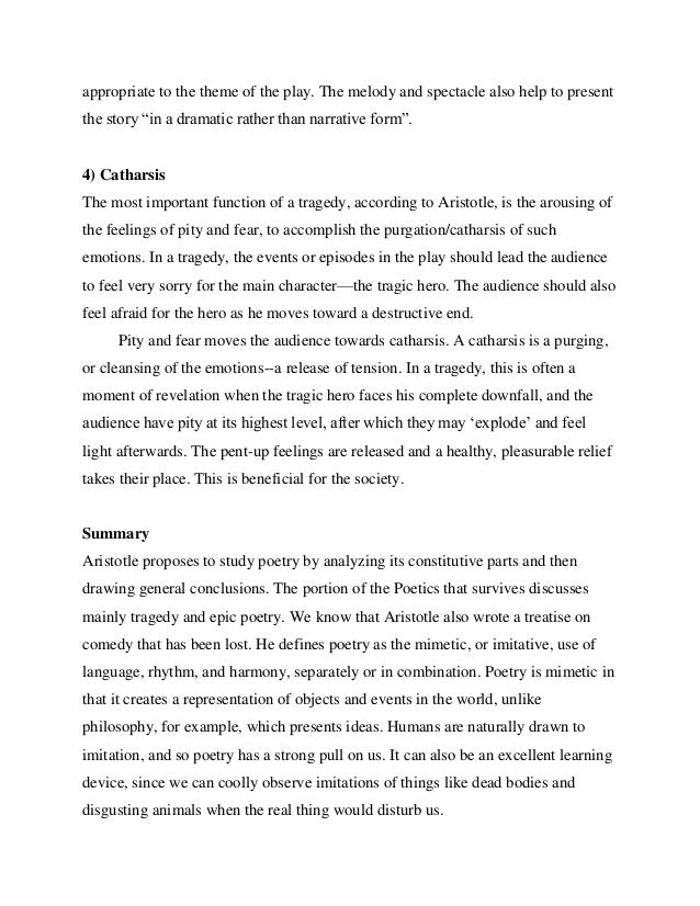an analysis of the topic of the willy as a tragic hero according to aristotle Creon fits aristotle's tragic hero traits as a significant person who is faced with difficult decisions creon is significant because he is king  according to .