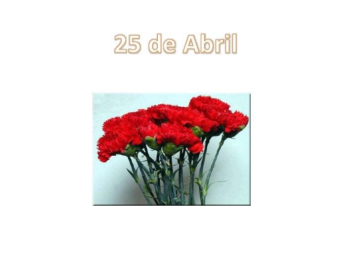 25 de Abril<br />