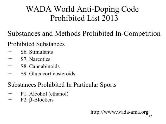 "illegal doping in sports The fight against doping during the 20th century commercialism characterized the sports world and sporting has gradually evolved from an ""activity"" into a ""big."