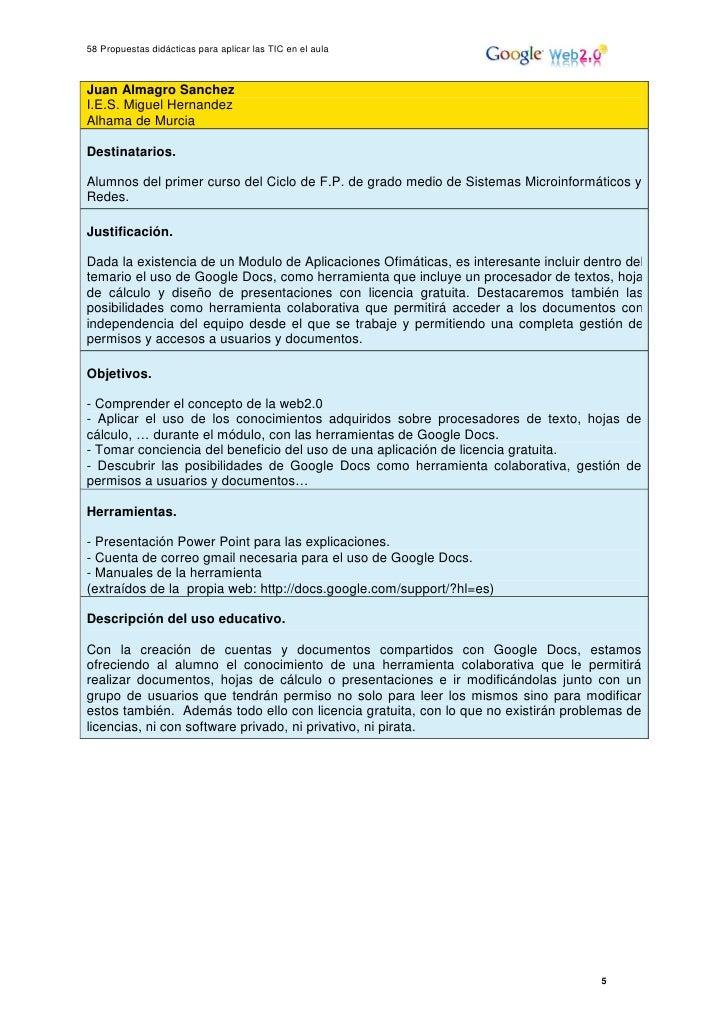 25 – elías fernández y otros – 58 propuestas didácticas para aplicar …