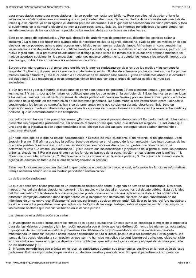 25 el periodismo civico como comunicacion politica ana for Resultados electorales mir