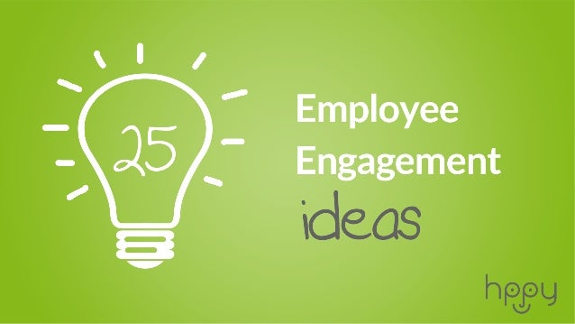 Employee engagement is not an exact science. So far, the whole concept has been built on HR experience, positive phycology...