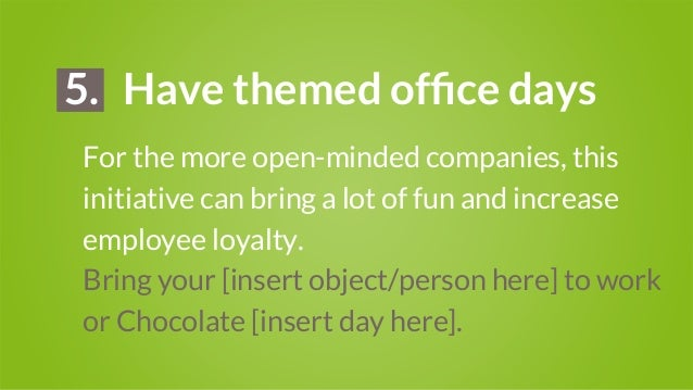 25 Employee Engagement Ideas
