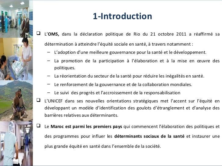 L'équité en santé au Maroc Slide 3