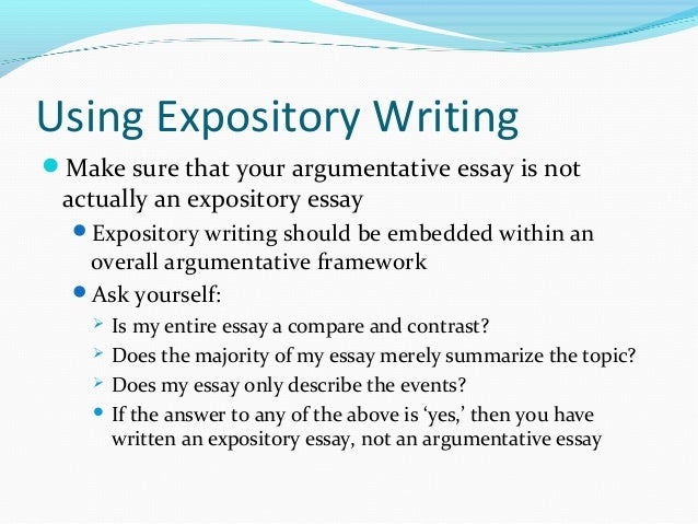 expository essay about a person