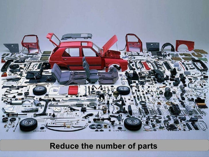 Reduce the number of parts