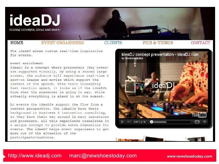 http://www.ideadj.com   [email_address]