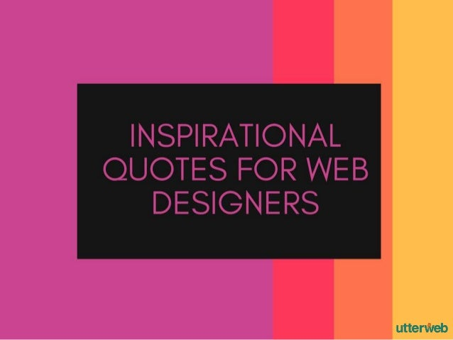 Web Developer Quote Web Design Inspirational Quotes Image ...