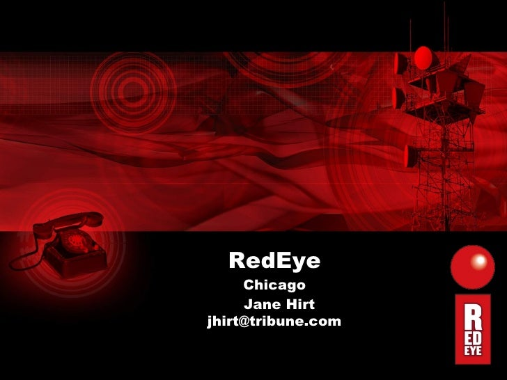 RedEye Chicago Jane Hirt [email_address]