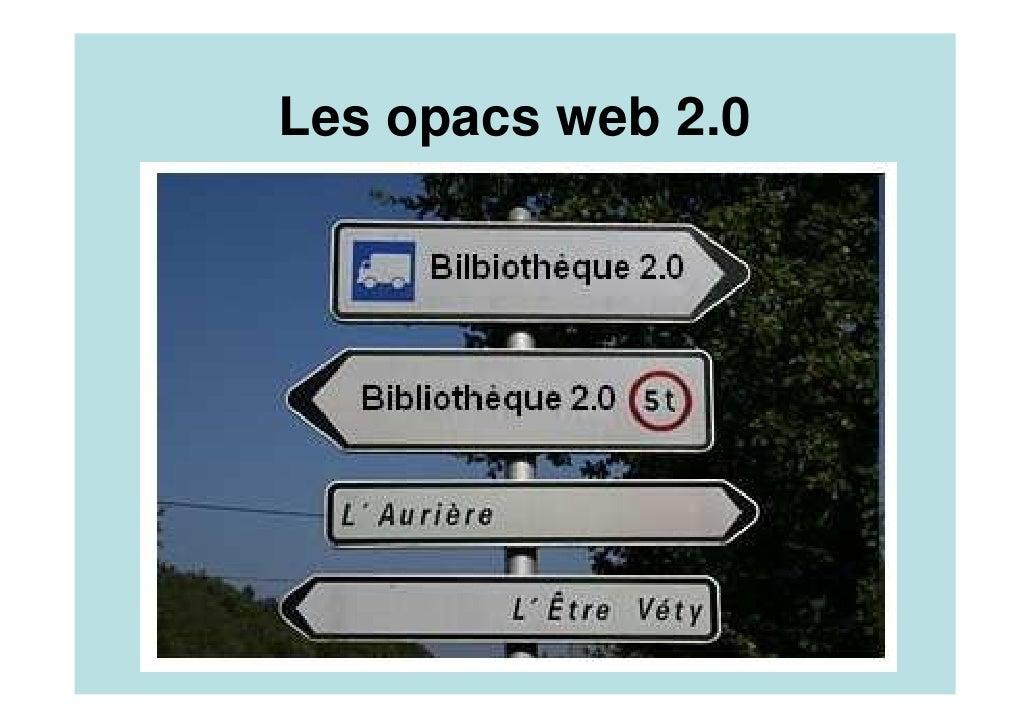 Les opacs web 2.0