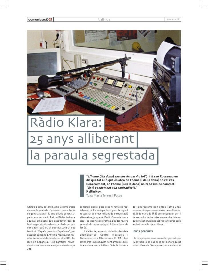 comunicació21                                                   València                                                  ...